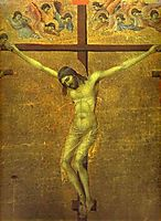 The Crucifixion, 1311, duccio