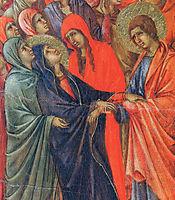 Crucifixion (Fragment) , 1311, duccio