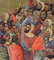 Crucifixion(Fragment), 1311, duccio
