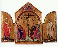 Crucifixion triptych, 1305, duccio