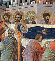 The death of Mary (Fragment) , 1311, duccio
