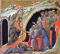 Descent into Hell, 1311, duccio