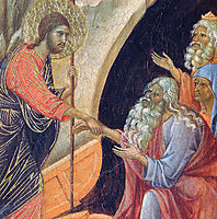 Descent into Hell (Fragment) , 1311, duccio