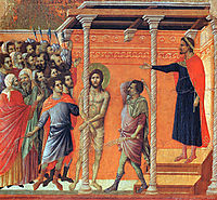 Flagellation of Christ, 1311, duccio