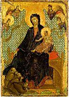 Franciscan Madonna, 1285, duccio