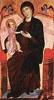 Gualino Madonna, c.1285, duccio