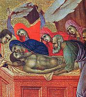 Lamentation of Christ (Fragment) , 1311, duccio