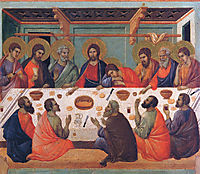 The Last Supper, 1311, duccio