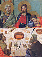 The Last Supper (Fragment) , 1311, duccio
