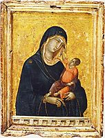 Madonna, 1300, duccio