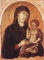 Madonna and Child, 1305, duccio
