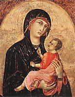 Madonna and Child (no. 593), c.1280, duccio