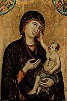 Madonna of Crevole, 1284, duccio
