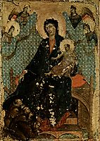 Madonna of the Franciscans, c.1300, duccio