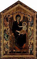 Madonna Rucellai, 1285, duccio
