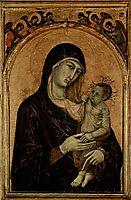 Madonna with Angels, 1305, duccio