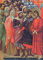 Pilate washes his hands, 1311, duccio