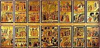 Scenes from Passion of Christ, 1308, duccio