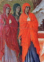 The Three Marys at the Tomb (Fragment) , 1311, duccio
