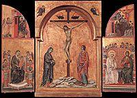 Triptych, 1308, duccio