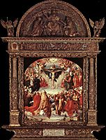 The Adoration of the Holy Trinity (Landauer Altar), 1511, durer