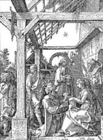 The Adoration of the Magi, durer