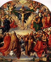 Adoration of the Trinity, 1511, durer