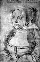 Agnes Dürerin in Dutch Tracht, 1521, durer