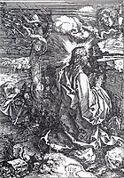 Agony In The Garden, 1515, durer