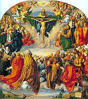 All Saints picture, 1511, durer