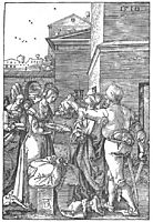 The Beheading of St John the Baptist, 1510, durer