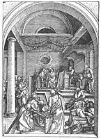 Christ among the Doctors in the Temple, 1503, durer
