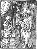 Christ Appears to His Mother, 1511, durer