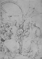 Christ before Caiaphas , durer