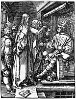 Christ before Herod, 1509, durer