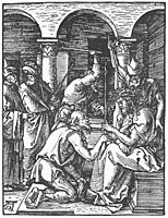 Christ Being Crowned with Thorns, 1510, durer