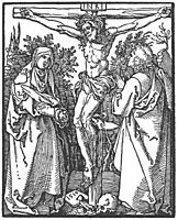 Christ on the Cross with the Virgin and St John, 1510, durer