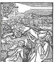 Christ on the mount olive, durer
