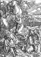 Christ on the Mount of Olives, 1510, durer