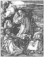 Christ on the Mount of Olives, 1511, durer