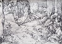 Christ On The Mount Of Olives, 1524, durer