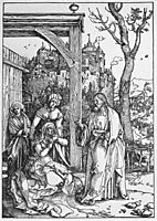 Christ Taking Leave of his Mother, durer