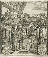 The Congress and Double Betrothal at Vienna, from The Triumphal Arch of Maximilian I, durer