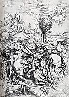 The Conversion Of Saint Paul, 1495, durer