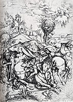 The Conversion Of St. Paul, 1495, durer