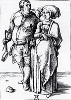 The Cook And His Wife, 1496, durer