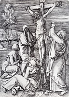 Crucifixion, 1508, durer