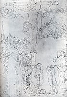 Crucifixion With Many Figures, 1523, durer