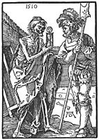 Death and the Landsknecht, 1510, durer