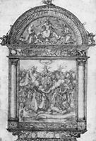 Design for All Saints picture, durer